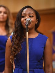 Miss Capital City Jordynne Tucker -- The Jackson Old Hickory Rotary Club and Lions Club welcomed Miss Tennessee 2016 Grace Burgess and the 2017 Miss Tennessee Scholarship Pageant contestants to a luncheon, Monday, June 19.