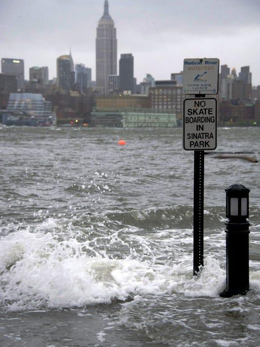 Sandy - Hudson River