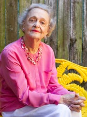 Doris Reynolds photographed at her home in Naples on Thursday, Oct. 16, 2014.