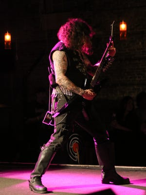 Goatwhore performs at Vinyl Music Hall Tuesday night.
