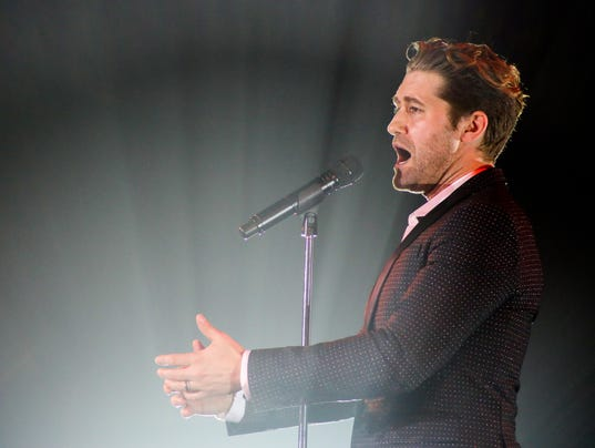 Matthew Morrison Fills Annenberg Concert-Goers With 'Glee' At Sold Out Benefit
