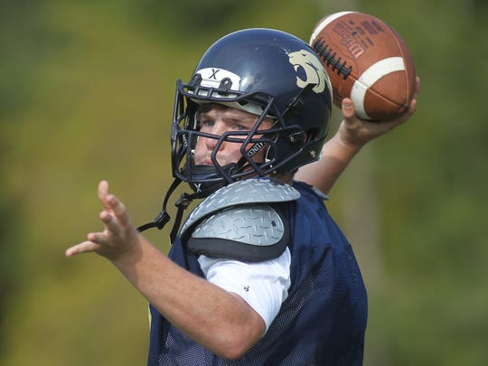 Brian Woodend accounted for two long touchdown passes