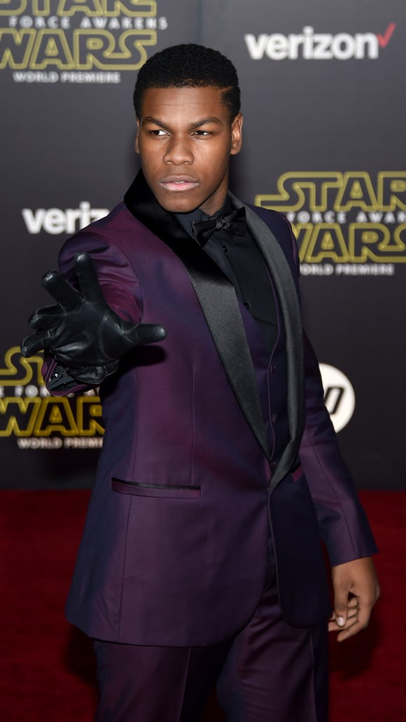 Doing M.J. proud, Boyega.