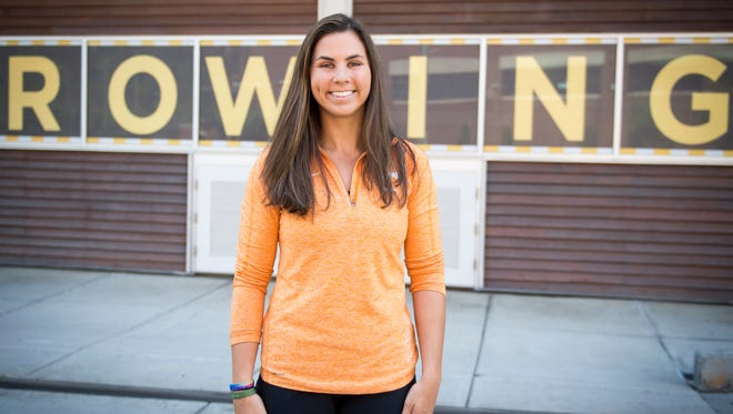 University of Tennessee rower Katie Porter has been named a Torchbearer. Porter is the only student-athlete named Torchbearer in 2018.
