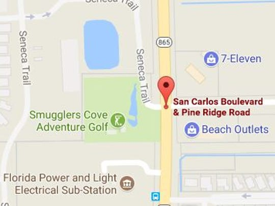 A fatal crash blocked on portion of San Carlos Boulevard