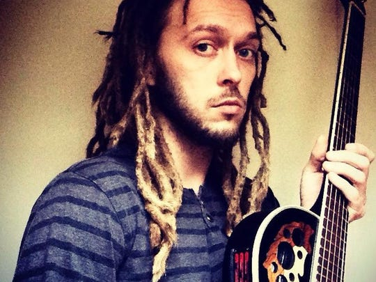 Local reggae performer Kaleb Brown is the organizer