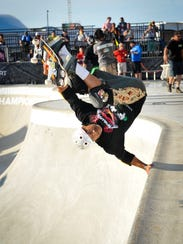 File photo of the Dew Tour Ocean City 2013 Legends Bowl Final. Organizers of the Jellyfish Festival hope to bring a similar event to the Dew Tour to Ocean City.