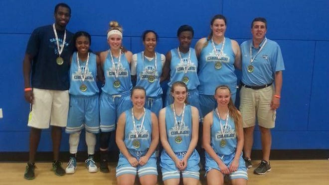 The Team Carolina 16 and under girls basketball team won the Land of the Sky Fall Classic tournament held last weekend at the Xcel Sportsplex in Hendersonville.