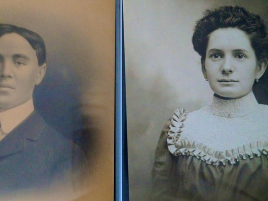 The original owners of Kieslich's Market, John V. and