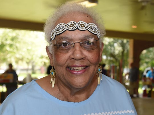 Joan Guillory Williams, 70, was adopted into the Attakapas