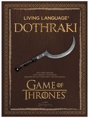 """David Peterson wrote a guide to speaking Dothraki, one of two languages he created for """"Game of Thrones."""""""