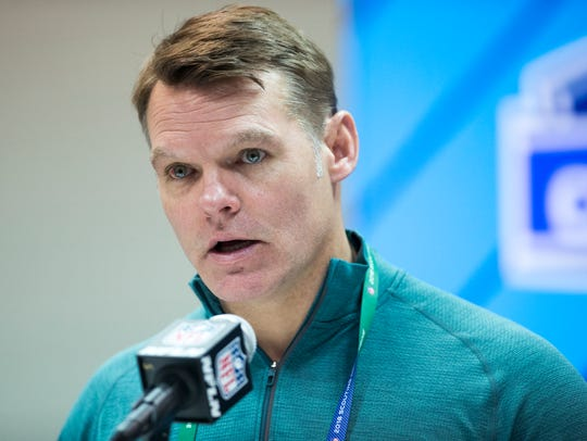 Chris Ballard, General Manager of the Indianapolis
