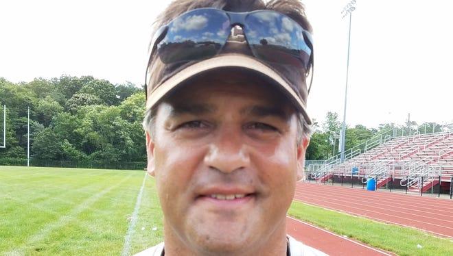 Cinnaminson football coach Mario Patrizi