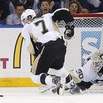 Rangers slammed by Penguins, 5-0