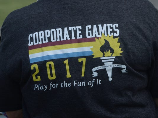 Corporate Games kicks off 8