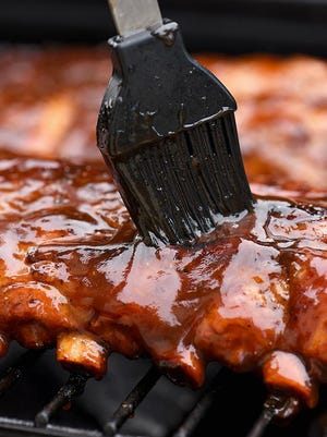 Pictured are barbecue ribs, a favorite among locals who dine at Woody's Country House, a restaurant in Blakeslee.