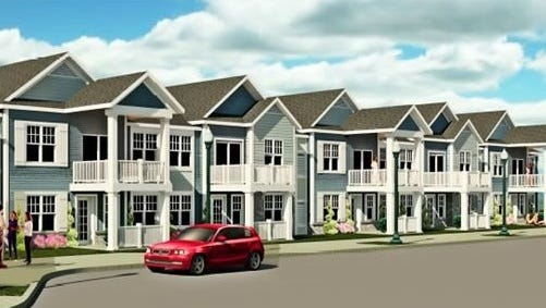 A Milwaukee developer has announced plans to construct an 88-unit town home project in the South Pier District.