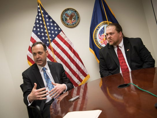 Peter O'Rourke, the director of the VA's Office of