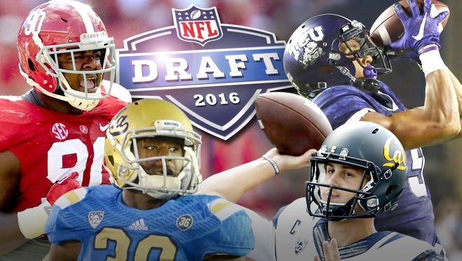 First-round projection for the 2016 NFL mock draft.