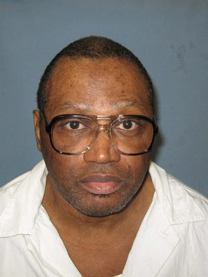 This undated file photo provided by the Alabama Department of Corrections shows inmate Vernon Madison. Madison is on death row for the 1985 murder of Mobile police officer Julius Schulte. The U.S. Supreme Court in the fall will hear the case of 67-year-old Vernon Madison, who killed an Alabama police officer, but whose lawyers say doesn't remember the crime because of stroke-induced dementia.