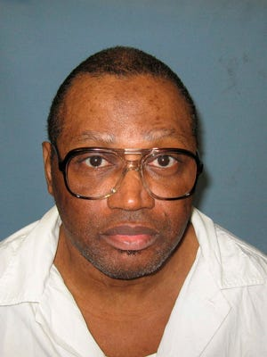 This undated file photo provided by the Alabama Department of Corrections shows inmate Vernon Madison. Madison is on death row for the 1985 murder of Mobile police officer Julius Schulte.