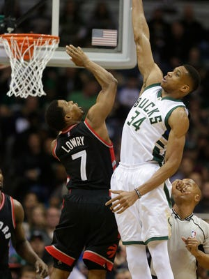 If Giannis Antetokounmpo continues to make big strides this season, he could catapult himself into the MVP conversation.