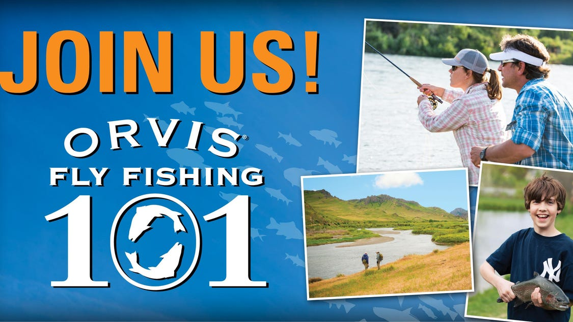Orvis offers free fly fishing classes for Fly fishing classes