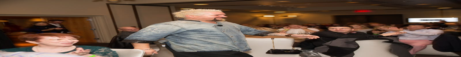 Guy Fieri's Lunch & Learn event in Paradise Valley