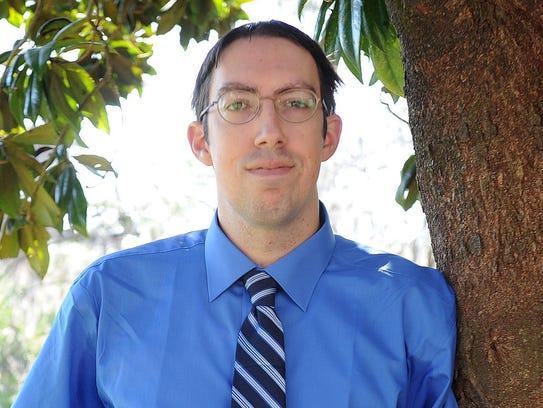 Erik David, candidate for Tallahassee mayor
