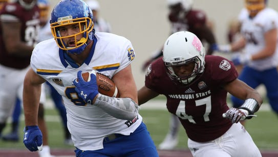 Dallas Goedert caught eight passes for 170 yards in