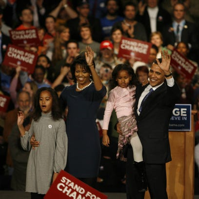 On 10-year anniversary of victory, Barack Obama calls Iowa caucuses his 'favorite night'