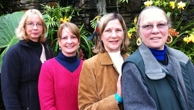 The four sisters, from left, Kathryn Coleman Gravely, Jaine Coleman Burleson, Diane Coleman Rutledge and Nora Coleman DeVere.