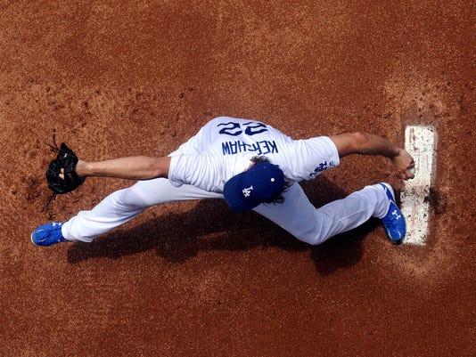 USP MLB: KANSAS CITY ROYALS AT LOS ANGELES DODGERS S BBN LAD KC USA CA