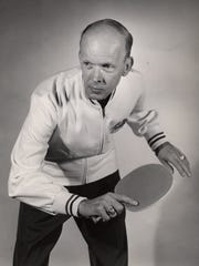 Jimmy McClure, the great table tennis champion who