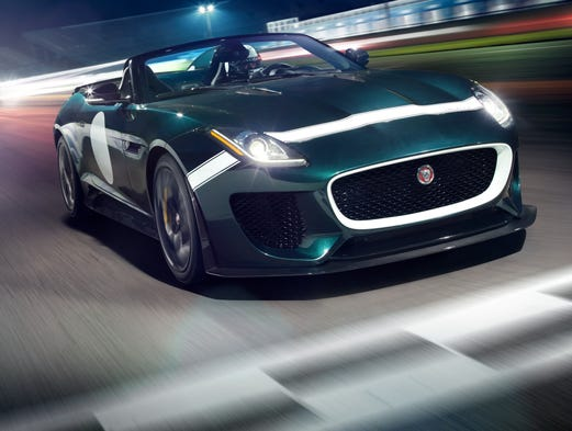 Jaguar F-Type Project 7 comes with a supercharged V-8
