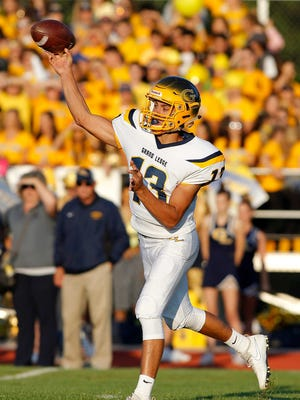 Grand Ledge quarterback Nolan Bird has been one of the leading passers in the Lansing area this fall.