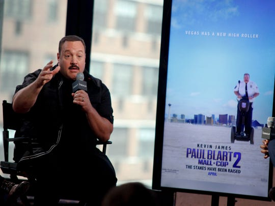 "Kevin James discusses ""Paul Blart: Mall Cop 2"", which was filmed in Las Vegas using Nevada's film tax credit."