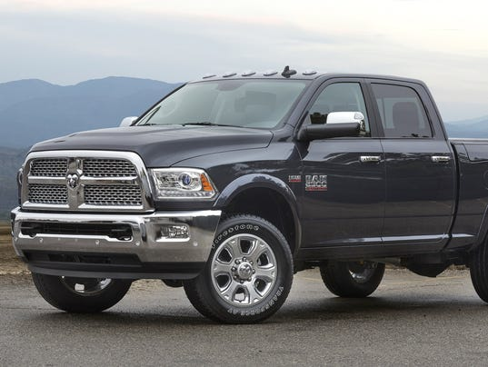 Fiat Chrysler Recalls Ram Trucks For Fire Hazard - Chrysler 2500