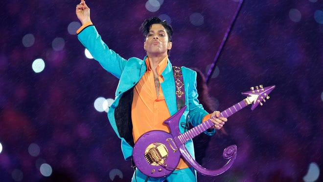 "The late singer Prince, whose hits included ""1999,"" with its signature line, ""Tonight we're going to party like it's 1999."""