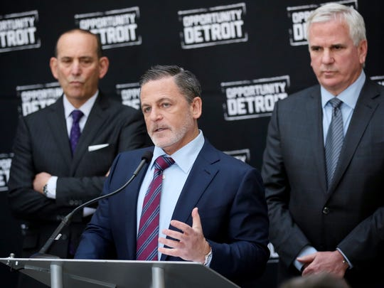 (From left) Don Garber, Major League Soccer Commissioner,