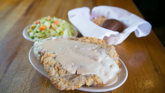 Chicken-fried steak is a star dish at Texaz Grill in Phoenix.