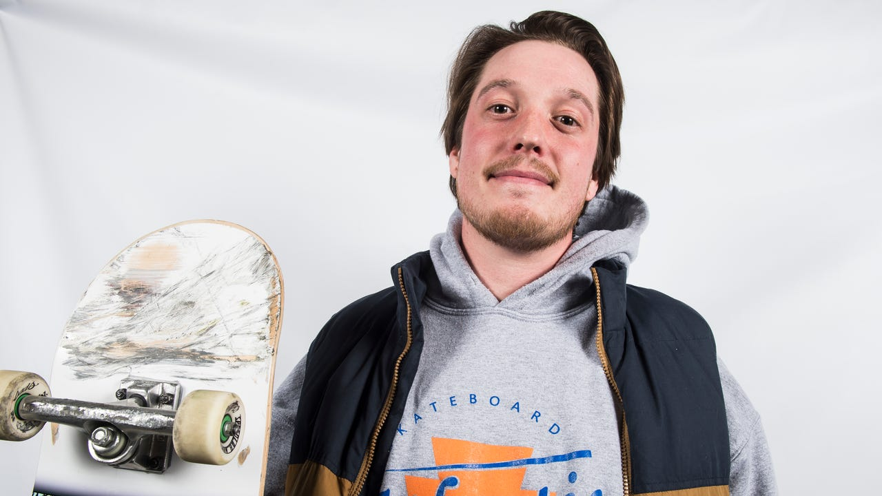 Shane Vrankin, a lifelong skateboarder and the owner of Atlantic Skateboard Company, is pushing for a proposal to have a skate park built in Hanover Borough.