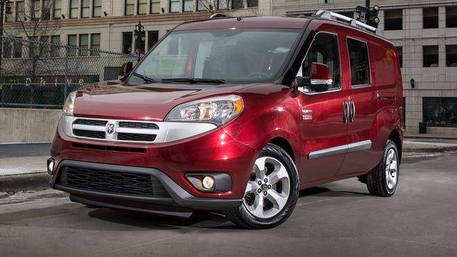The 2015 Ram ProMaster City Wagon two-row passenger version of the new Fiat-based commercial van.