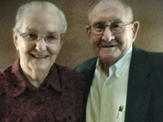 Anniversaries: Peggy Jones & Archie Jones