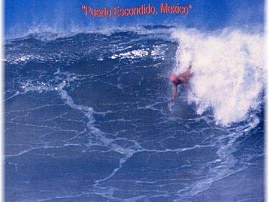 Bob surfing.