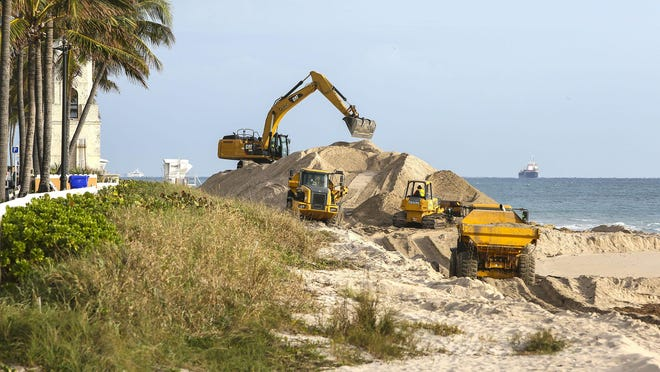 The last restoration of Midtown Beach occurred early in 2015.