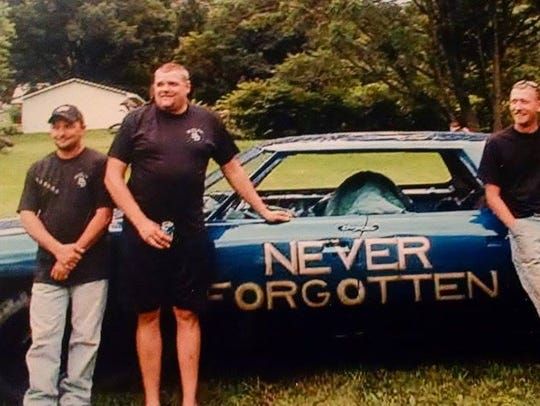 Some of the Gillett Boys, from left, the late Chris