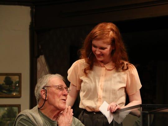 Bill Shook as Martin Vanderhof (Grandpa) and Mia Kyler