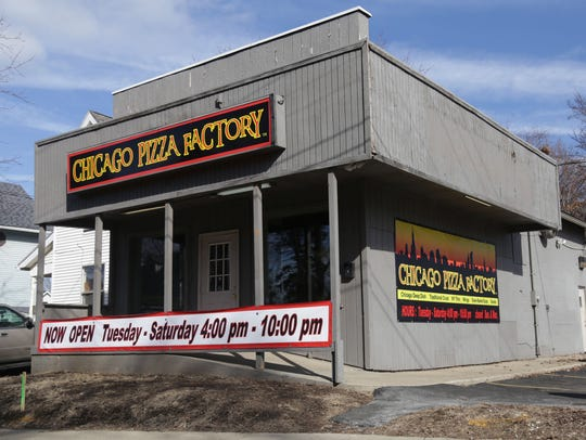 Chicago Pizza Factory on 523 South Main Street in Mansfield