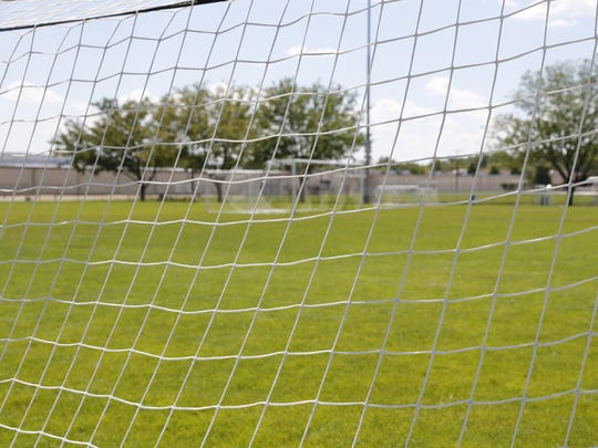 A planned trail near Ricketts Park is designed to provide better access to bleachers so family members can watch children's soccer teams compete.